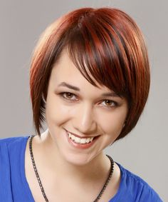 Short Straight Formal Hairstyle new
