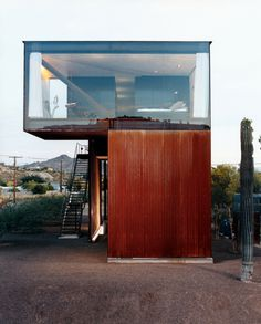 Crazy-awesome container home.