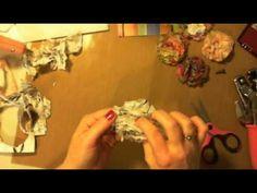 Napkin Flowers.wmv - YouTube