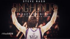 Steve Nash to Enter Ring of Honor Ring Of Honor, Extraordinary People, Phoenix Suns, Photo And Video, Words, Horse