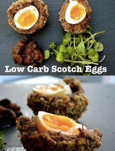 Low Carb Scotch Eggs