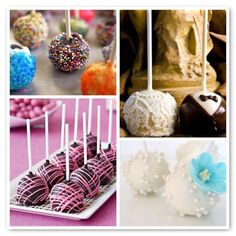 Make cake pops for the party!