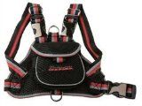 Pet Life Dog Harness, Black, Medium - http://www.animalimage.net/pet-life-dog-harness-black-medium/ - Pet Life Dog Harness, Black, Medium   Features a built-in back pouch Rimmed with reflective strips along the pocket Features a double harness ring  Our pet life harnesses are produced of high quality mesh fabric and feature adjuable stretching straps and high-end buckles. Attach this to any...
