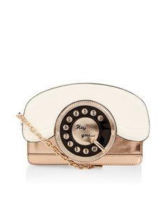Ring Ring Telephone Across Body Bag