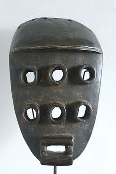 "African Grebo ""Kru"" mask (Côte d'Ivoire) - Art Curator & Art Adviser. Catalog @ http://www.BusaccaGallery.com"