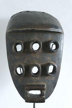 "African Grebo ""Kru"" mask (Côte d'Ivoire) - Art Curator & Art Adviser. Catalog @ http://www.BusaccaGallery.com"