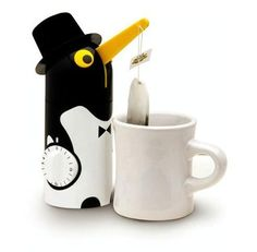 Penguin Tea Timer. I can't even tell you how much I want this. I can't find it anywhere to buy though...