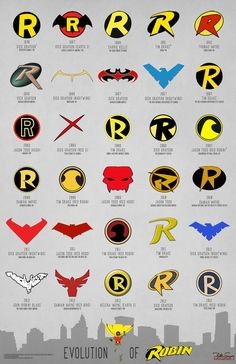 rileyinahalfshell:  My best friend Kyle and I are getting matching Robin/Batman Logo tattoos in the appropriate places sometime in the next month or so. I personally think Jason Todd's symbol from 2010 is the coolest.