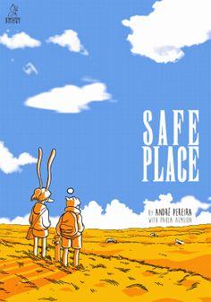 Leituras de BD/ Reading Comics: Lançamento Kingpin Books: Safe Place