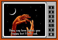 8-bit Stories #love #sad #happy