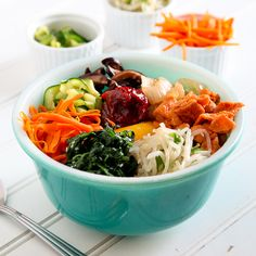 Spicy Pork Bimbimbap by snixykitchen #Bimbimbap