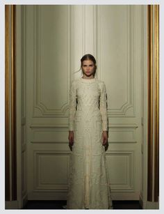 Fashion photographer Gian Paolo Barbieri recently captured Valentino's latest haute couture collection for an opulent editorial in Italian Vogue