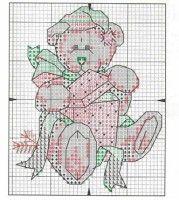 Gallery.ru / Фото #9 - Christmas Bear Ornaments - IM1KrazyLady