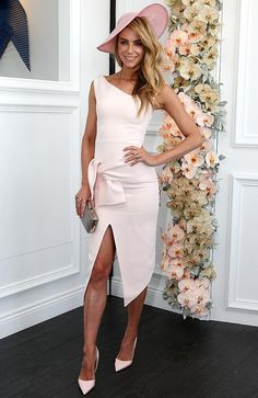 Brynne, Jennifer Hawkins, Samantha Jade and others dress up for Oaks Day 2014 Ladies Day Outfits, Race Day Outfits, Derby Outfits, Races Outfit, Horse Race Outfit, Kentucky Derby Outfit, Kentucky Derby Fashion, Race Day Fashion, Races Fashion