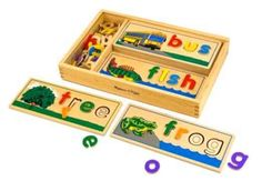 Melissa Doug See Spell Wooden Educational Toy With 8 Double-Sided Spelling B #MelissaDoug