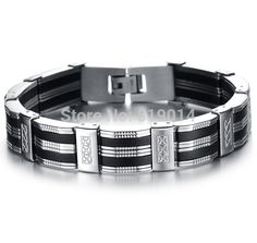 Stainless Steel Bracelet & Bangle Men's Bracelet //Price: $15.05 & FREE Shipping //     #bracelets #pretty