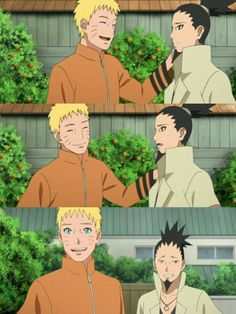 Naruto & Shikamaru #uzumakinaruto #narashikamaru #narutonextgenerations