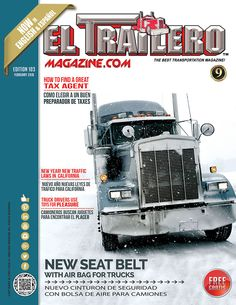 Truck Poster February Edition #103. See our Truck Posters at