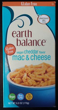 Earth Balance Gluten-Free Vegan Cheddar Mac & Cheese