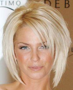 Fryzury krótkie blond zdjęcia