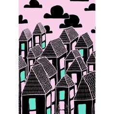 PINK CITY PRINT www.uncouthkat.com