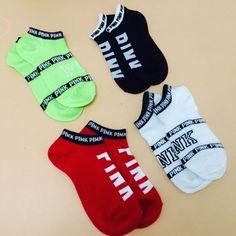 100% baumwolle, Frauen als express es in VS Rosa Socken Harajuku stil freizeit schöne Socken Calcetines Mujer brief socken meias