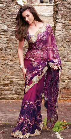 Boutique Saree. I need this.