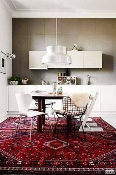 Decorating with Area Rugs | Domino