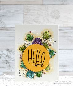 Hello crafty friends, happy STAMPtember! Today I have two autumn-themed cards to share with you using the SSS STAMPtember®Be-Leaf Me, Time For Wine, and Autumn Greetings stamp sets. For my first c…