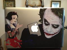 Wow! What a great idea to decorate a MacBook! Be creative and find your perfect #decoration idea here! #DIY #stickers