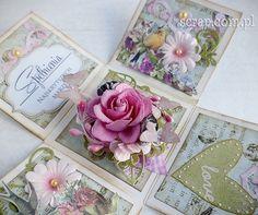 small EB base Scrapbook Box, Exploding Box Card, Simple Birthday Cards, Pillow Box, Pop Up Cards, Diy Box, Crafty Craft, Keepsake Boxes, Diy Cards