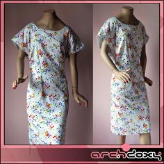 Vintage 1960s Sweet Ditsy Tiny Tulip Print White Wiggle Pencil Summer Dress #mod  http://www.ebay.co.uk/itm/Vintage-1960s-Sweet-Ditsy-Tiny-Tulip-Print-White-Wiggle-Pencil-Summer-Dress-UK18-/371655810987