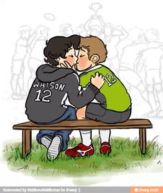 TEENLOCK<< ITS TOO CUTE!! And I can totally see john being a soccer player