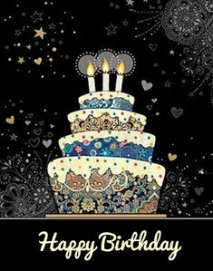 Happy Birthday Wishes Messages - Bday Status with Bday Images Happy Birthday Wishes Messages, Happy Birthday Art, Happy Birthday Pictures, Birthday Blessings, Birthday Love, Happy Birthday Greetings, Friend Birthday, Happy Birthday Status, Fabulous Birthday