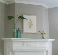 """Ben Moore Shale #861 """"go to for modern taupe, not too grey and not too brown; works with warm and cool colors"""" Want to use this for our walls we can't repaint often (great room, foyer, etc.)"""