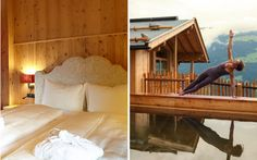 The HochLeger chalets are equipped with a beautiful wooden sauna including relaxation rooms and a terrace accessible to all guests with a large chlorfree bio-wood pool.