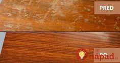 Výborné zlepšováky do každej jednej domácnosti. Pridávam ich sem práve preto, pretože som prednedávnom sama potrebovala odstrániť nedokonalosti a drobné škrabance z plávajúcej podlahy. Stačí naniesť na povrch a podlaha bude vyzerať neporovnateľne lepšie. Odstráňte škrabance z dreveného nábytku Potrebujeme: pol pohára octu pol pohára olivového oleja Zmiešajte ingrediencie a namažte ich na poškriabanom povrchu... Home Hacks, Bamboo Cutting Board, Good Things, Home Decor, Tips, Homemade Home Decor, Household Tips, Decoration Home, Interior Decorating