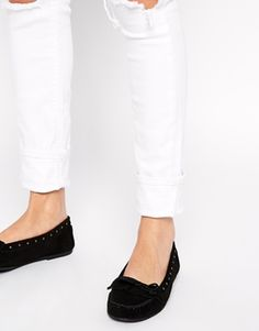 ASOS MINUTE TIMER Suede Moccasin Shoes