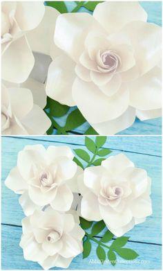 152 Best Colour Paper Flowers Images Paper Flowers Paper