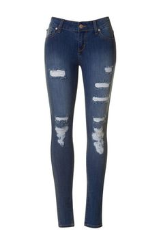 Destroyed Skinny Ankle Jeans – Texas Two Boutique
