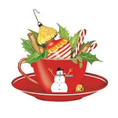 ♥ ✩♫*¨* ℳҽґґᎽღ Christmas everybody! *¨*♫✩ Christmas teacup.