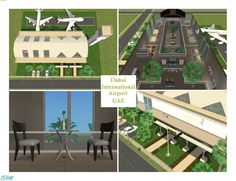"""""""The newest airport in Dubai, which is waiting all travelers with  Found in TSR Category 'Community Lots'"""