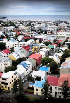 Reykjavik, Iceland - 90% of the population believes in elves >>> I love that!