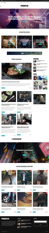 795 best WordPress Blog and Magazine Themes images on Pinterest ...