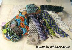 Knot Just Macrame by Sherri Stokey: Micro Macrame Tutorials and Classes - Where the He...