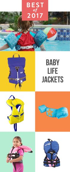Start here with the three best life jackets for the under two set and a great option for toddlers, too.