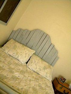 Lieblich DIY Bett: Kopfteil Selbst Bauen Aus Paletten