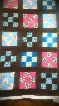 My First Crib sized quilt