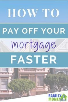 How to pay off your mortgage faster and become mortgage free - Mortgage Loan Originator - Paying off mortgage tips. - Great tips in here on How To Pay Off Your Mortgage Faster ( In as Quick As 5 Years) Mortgage Companies, Mortgage Tips, Mortgage Rates, Mortgage Humor, Online Mortgage, Paying Off Mortgage Faster, Pay Off Mortgage Early, Dave Ramsey, Debt Free