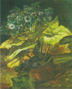 Flower Pot With Asters 1886 | Vincent van Gogh